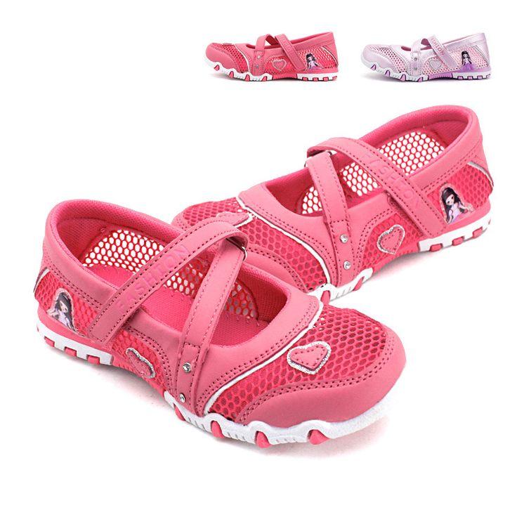 2017 New Summer High Quality Non-slip Children Shoes Girls fashion Sandals Cartoon Princess Sandals Kids Flat