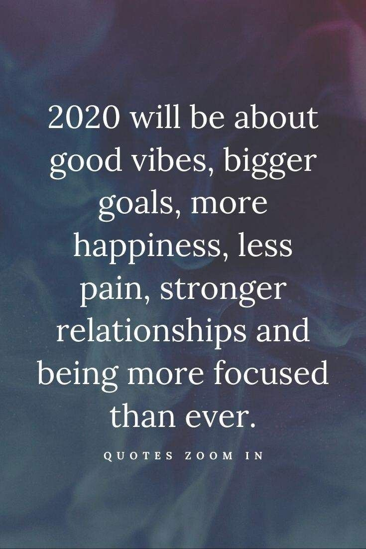 2020 Vision Happy You Year In 2020 Quotes About New Year New