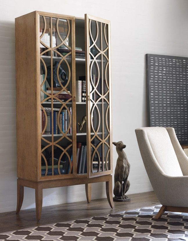 OMG...I LOVE this!!! 25 Original Mid-Century Modern Bookcases You'll Like | DigsDigs