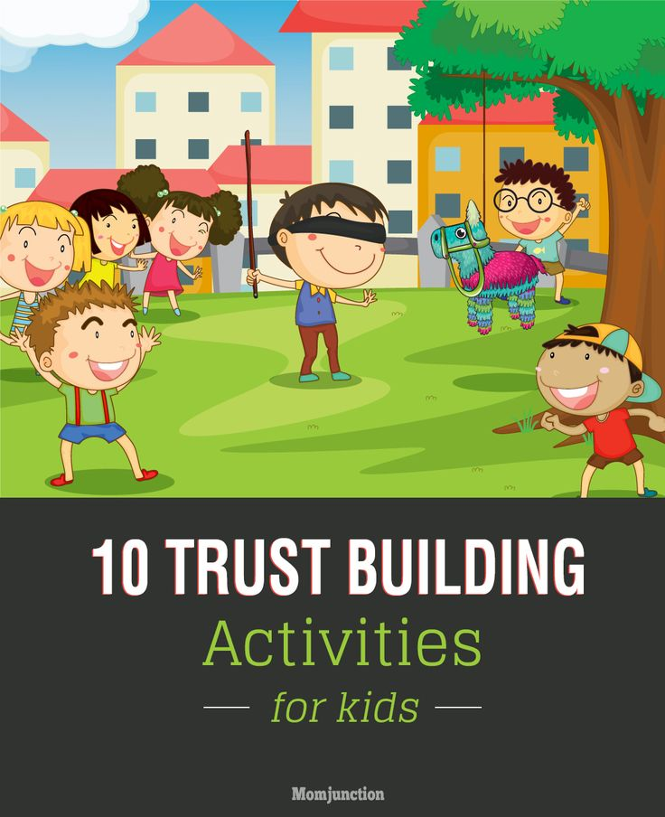 10 Interesting Trust Building Activities For Kids: If you are worried that your kid is not able to place his trust in others and needs to build on it, read on to find out some #activities that can help.