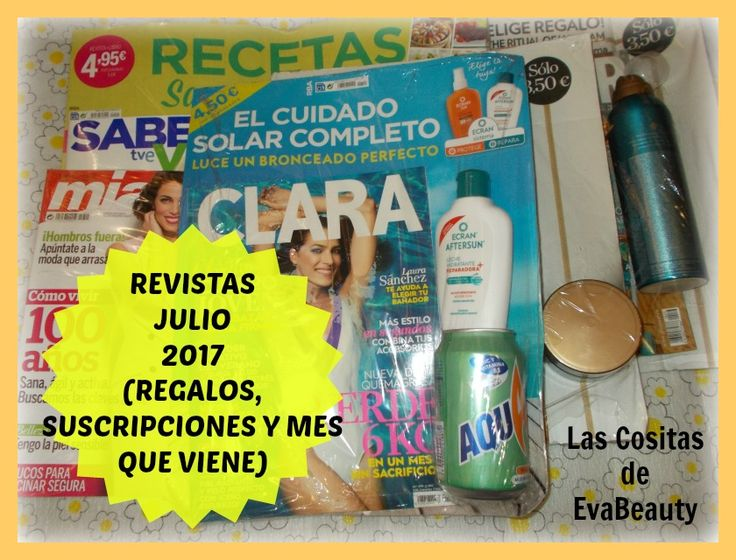 Hola amores!!!! Hoy os traigo post con las revistas de este mes! Os espero en el blog con toda la información. Besotes y buen fin de semana!!! #lascositasdeevabeauty #belleza #beauty #makeup #maquillaje #moda #fashion #noticias #news #revistas #revistasjulio #blog #blogger #beautyblog #beautyblogger #bloggerespaña #bloggerbelleza #fashionblog #fashionblogger