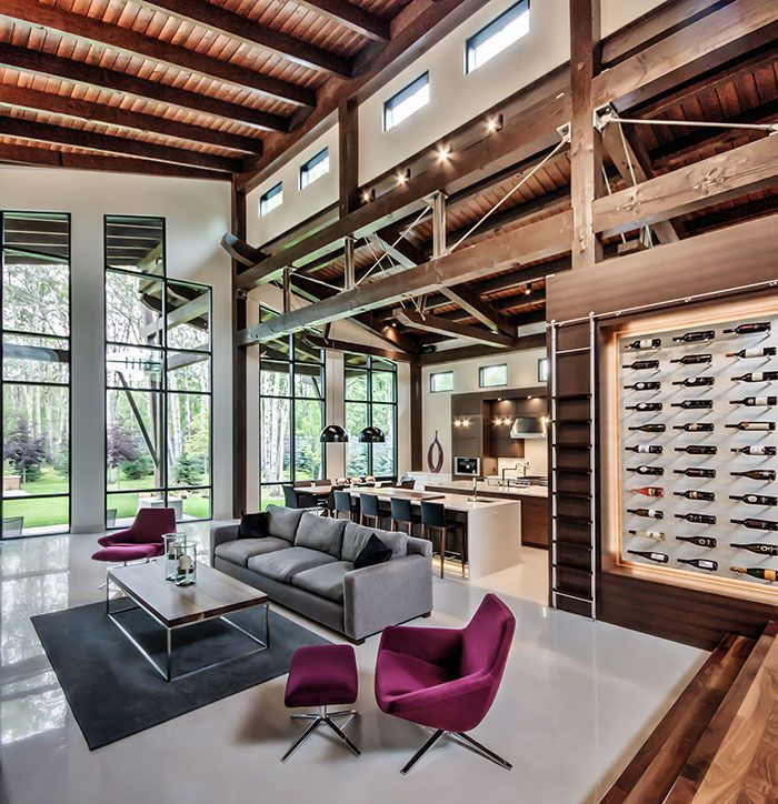 58 best Contemporary Mountain Homes images on Pinterest | Mountain ...