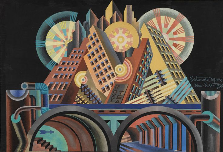 Italian Futurism, 1909 - 1944:  Reconstructing the Universe  Guggenheim (New York) Curators: Viven Greene