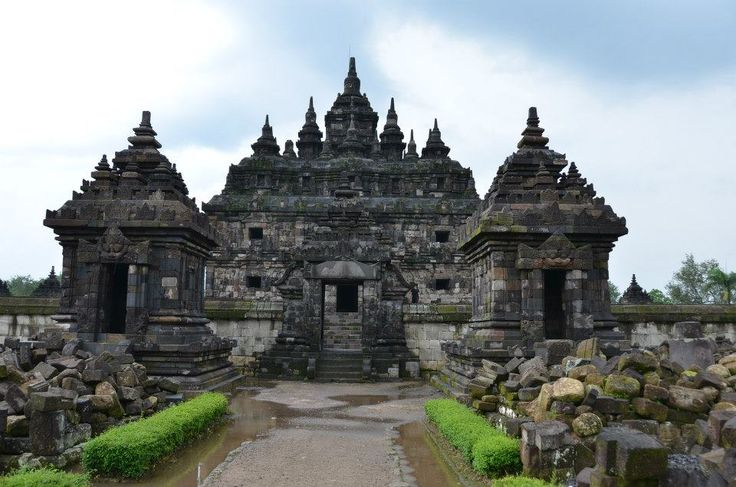 Plaosan Temple, (Buddhist Temple) Central Java, Indonesia