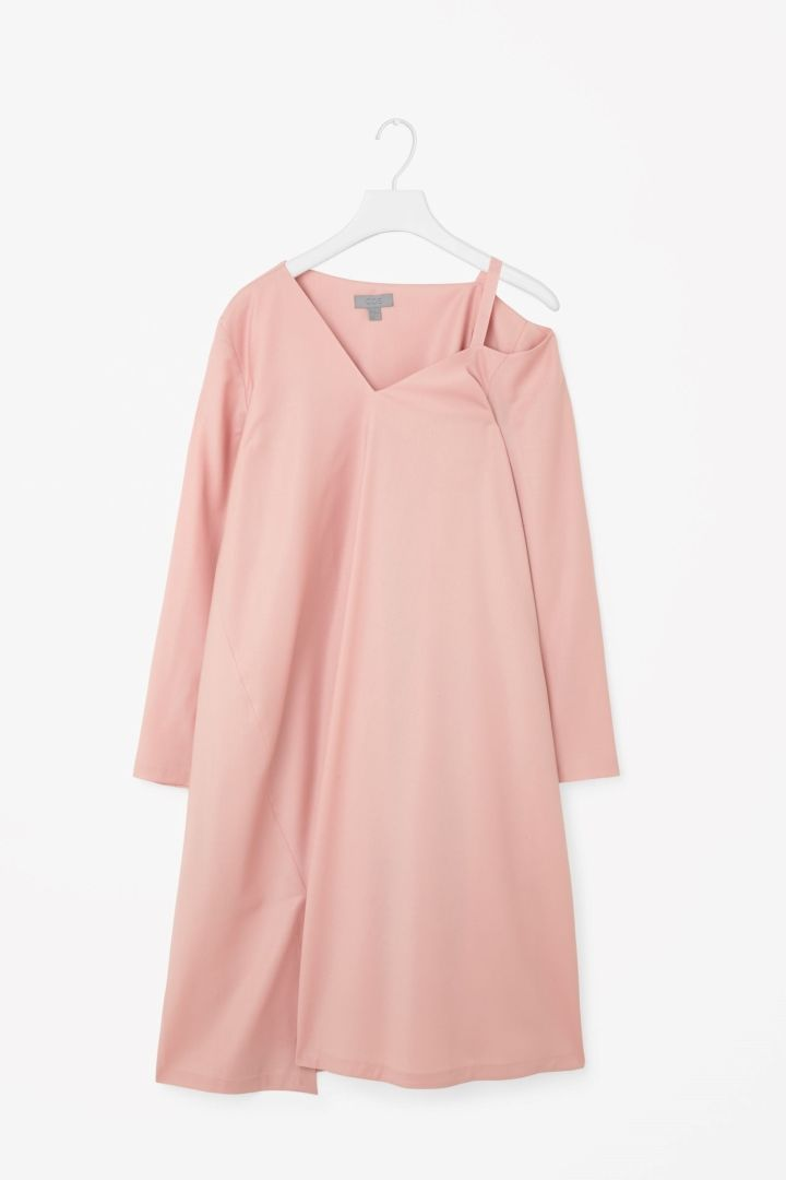 Asymmetrical oversized dress