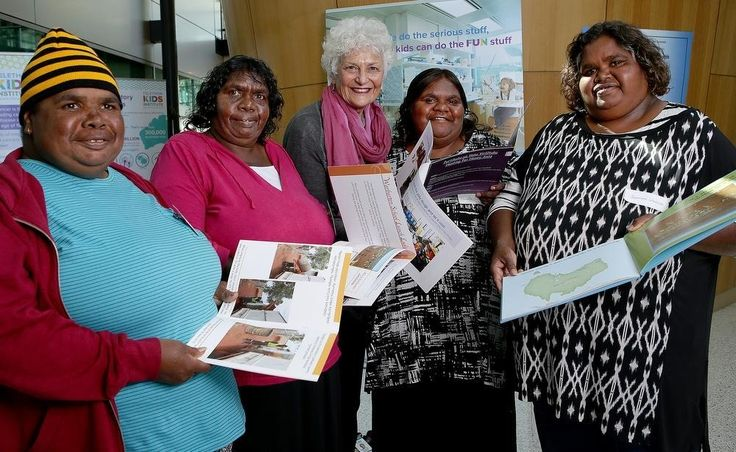 Books are part of an initiative to introduce traditional language into the lives of young Aboriginal children.