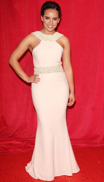The Coronation Street actress has got an amazing body [Wenn]