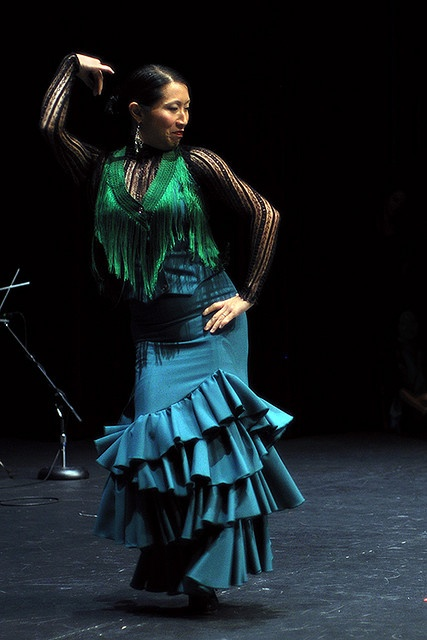 Kasandra la China dancing solea por bulerias #flamenco