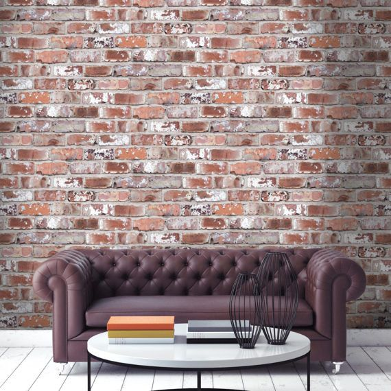 30 Amazing Apartments With Brick Walls: 25+ Best Ideas About Brick Effect Wallpaper On Pinterest