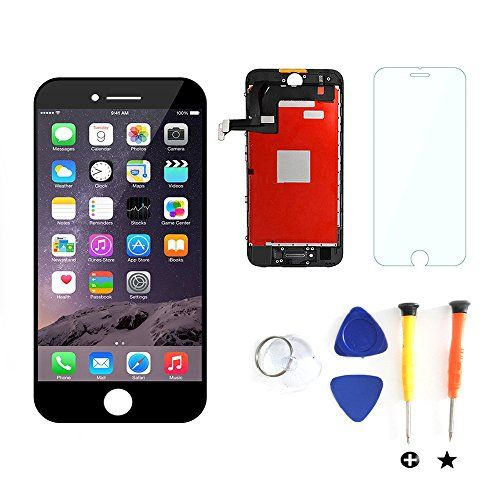 """Litsped LCD Screen Replacement ,Touch Screen Digitizer Frame Assembly White Repair Tools For 6plus 6splus 7plus 5.5inch - 7Plus Black  https://topcellulardeals.com/product/litsped-lcd-screen-replacement-touch-screen-digitizer-frame-assembly-white-repair-tools-for-6plus-6splus-7plus-5-5inch/?attribute_pa_color=7plus-black  Compatible with: iPhone 7 Plus 5.5″ Black(A1660, A1778, A1779), NOT iPhone 7 4.7″ Please recognize Seller """"Litsped"""", and make sure y"""