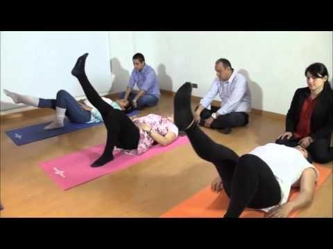 Ejercicios Prenatales  - Piso Pélvico - YouTube