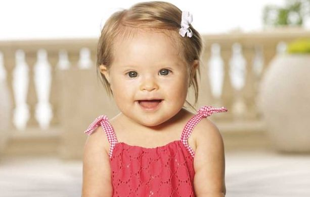 A baby with Down syndrome becomes a major swimsuit model