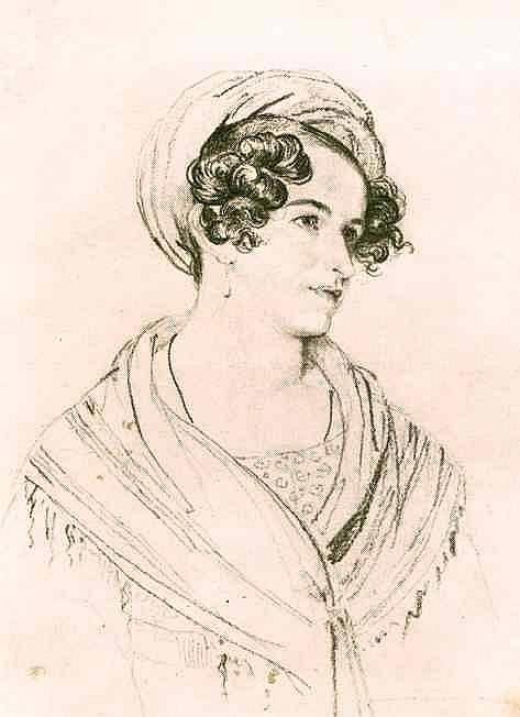 Orest Kiprensky - Portrait of an Unknown Woman in a Turban