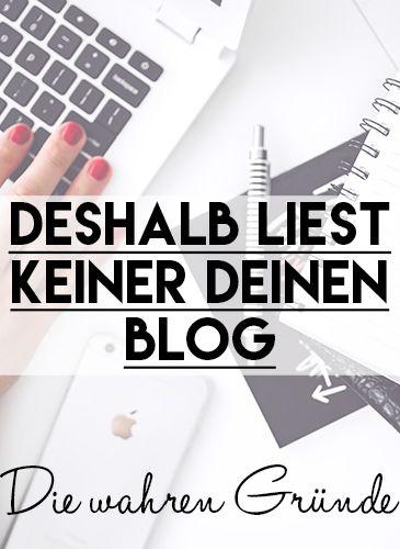 Deshalb liest keiner deinen #Blog – die wahren Gründe und was du jetzt dagegen…