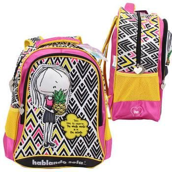 "Wholesale Backpack 16.5"" Hablando Sola Pop-Up Pineapple Backpack - 24 Units"