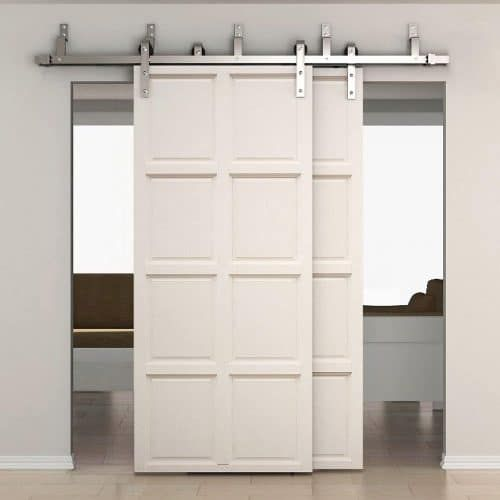 Top 10 Double Sliding Barn Doors In 2020 Double Sliding Barn Doors Bypass Barn Door Interior Sliding Barn Doors