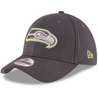 Youth New Era Graphite Seattle Seahawks Tone Tech Redux 39THIRTY Flex Hat