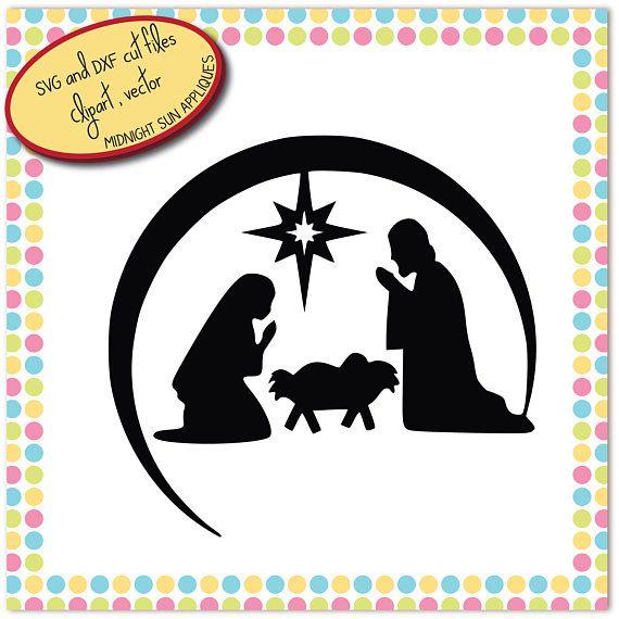 Nativity svgnativity scene svgbethlehem svgchristmas