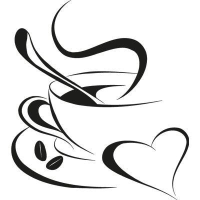 taza de cafe silueta sin fondo - Buscar con Google