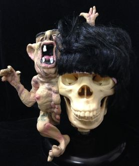 Realistic Mutant Freak Alien LITTLE BROTHER WIG Creepy Deluxe Cosplay Halloween Costume Masquerade Deformed Latex Mask Scary Horror Prop Funny Prank Joke Gag Gift-No need for any costume or makeup with this crazy out-of-this-world fashion accessory! http://www.horror-hall.com/Mutant-Freak-LITTLE-BROTHER-WIG-Horror-Halloween-Costume-Prop-HH-MR-TA394.htm