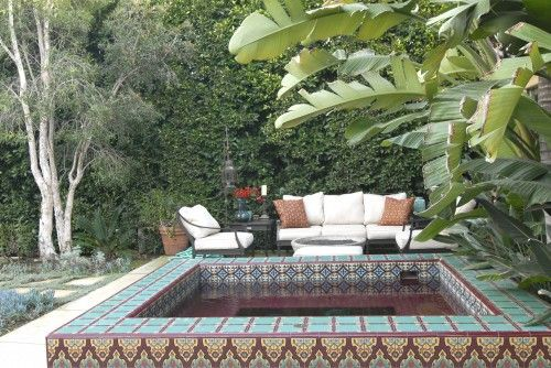 .: Idea, Moroccan Design, Spanish Houses, Hot Tubs, Outdoor Spaces, Spanish Style, Photo, Spanish Colonial, Mediterranean Exterior
