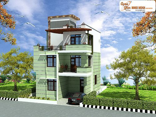 Triplex house design login website free floor plans and for Modern house website