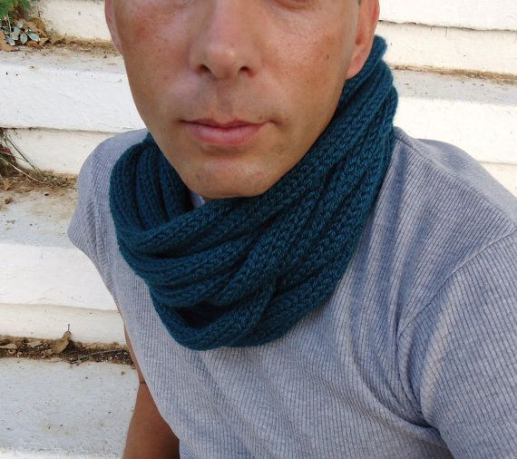 Scarf in soft wheatHand knitted  warmerscarf by PopisBOUTIQUE