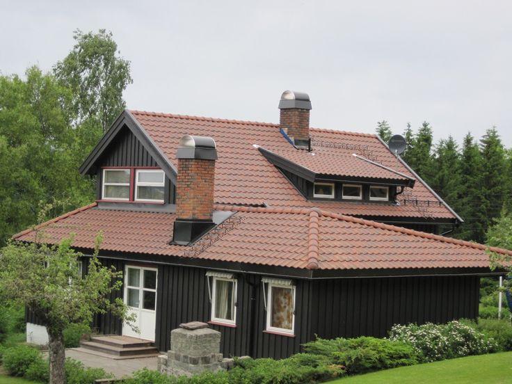 Invester i tegltakstein på taket - Byggmakker+