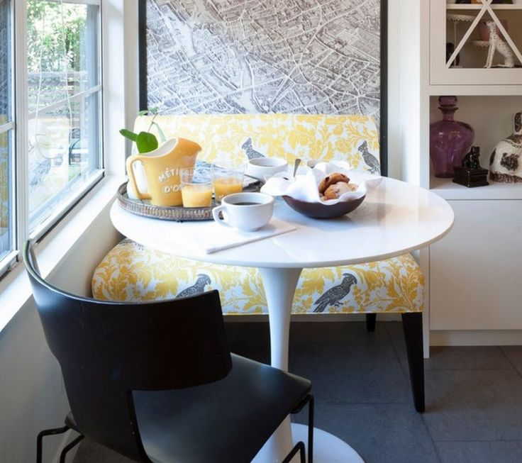 Dining Room Yellow Accent Fabric Upholstered Bench With Back The Application Of Enchanting