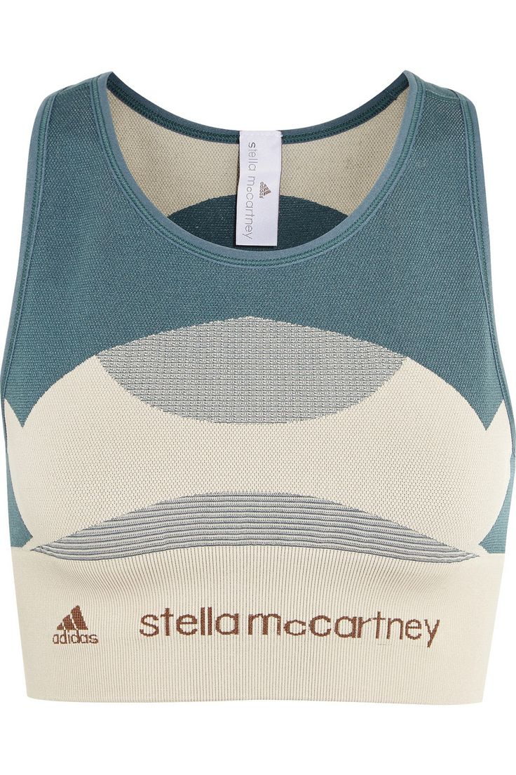 Adidas by Stella McCartneyStretch-knit sports bra