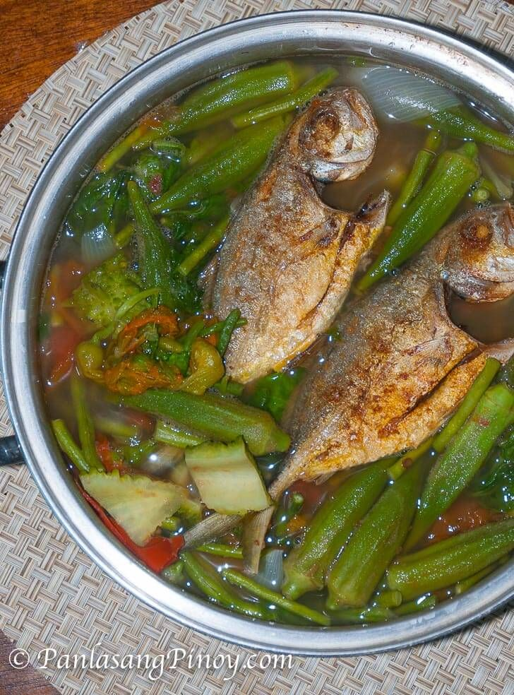 Dinengdeng Mixed Vegetables with Fried Fish Recipe