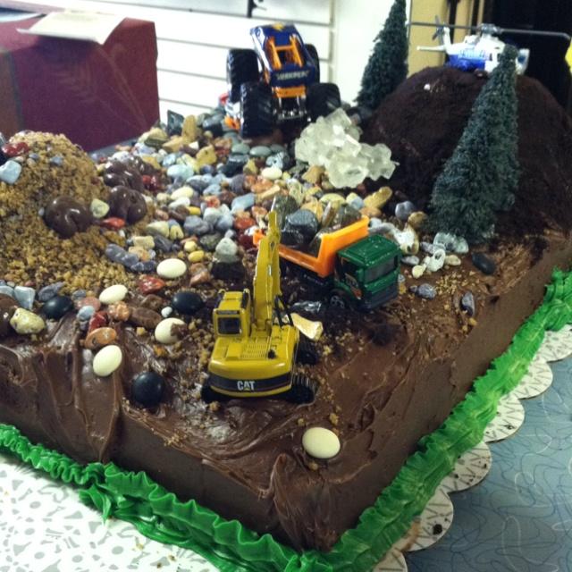 Boy's birthday cake idea