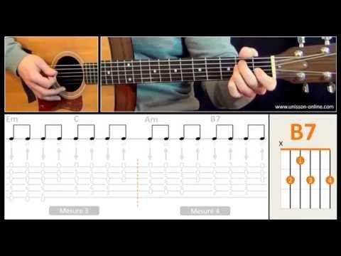Jouer Foule Sentimentale (Alain Souchon) - Cours guitare. Tuto + Tab - YouTube