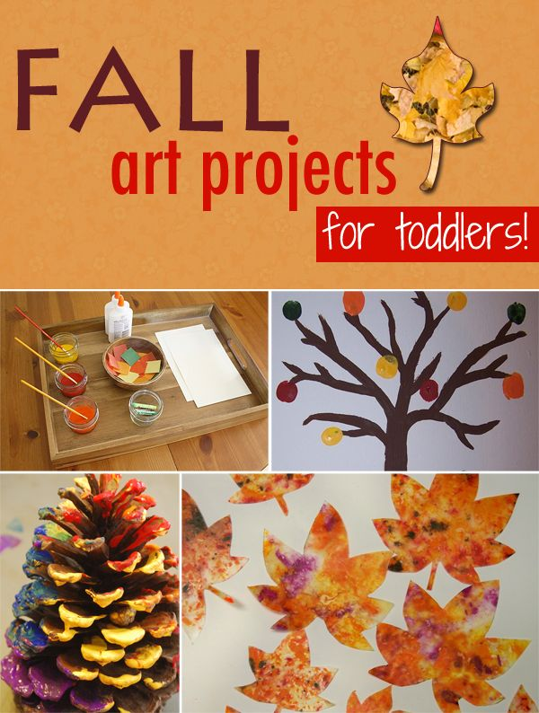 9 Fun Fall Art Projects (for toddlers or ANY age!)