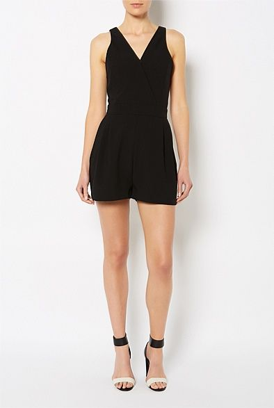 Latest Women's Clothing for Spring & Summer 2013 | Witchery Online - V-Neck Playsuit #witcherywishlist