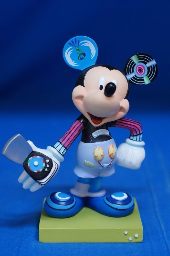 Mickey Mouse Birthday Party Candles | Birthday Wikii  |Mickey Mouse Birthday Figurines
