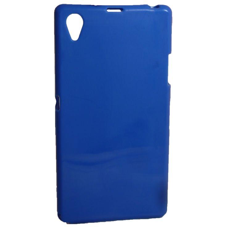Θήκη σιλικόνης για Sony Xperia Z1 Μπλε http://mikromagazo.gr/_p830.html
