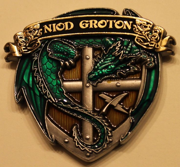 Navy Information Operations Detachment NIOD Groton, CT Navy Challenge Coin