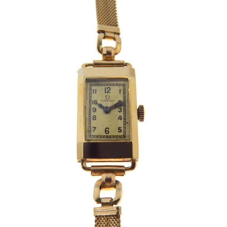 Art Deco 14k Gold Omega Ladies' Watch