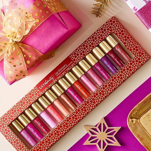 Mistletoeready lips ️The Lip Glossary collection has 15