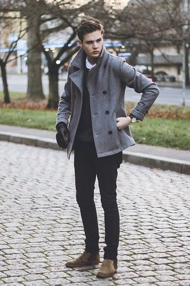 Leon  David - Topman Coat, August Brand Watch, August Brand Gloves - ANOTHER DIRECTION
