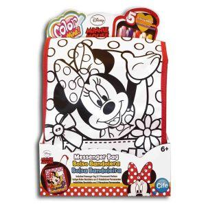 Çanta Boyama-Minnie Mouse