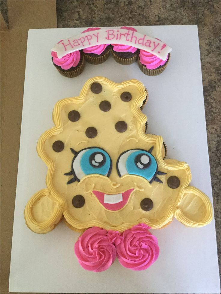 Kookie cookie cupcake cake. Shopkins