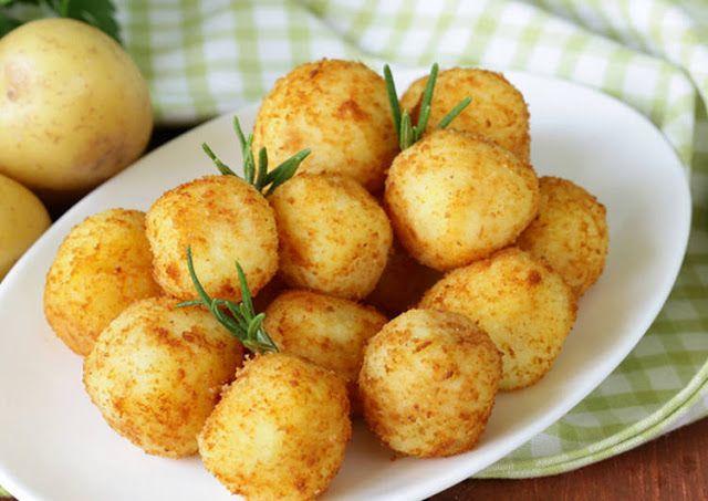 Leckere Rezepte: Kartoffel Käse Bällchen