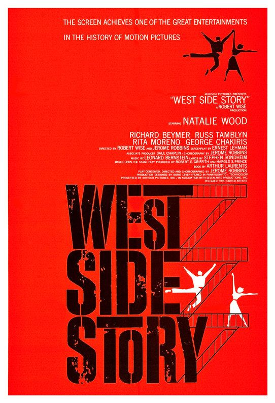 West Side Story  Movie Musical Poster Print  13x19  by jangoArts, $19.50