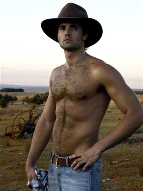 aussie bush cowboy...if only they all looked like this! haha!