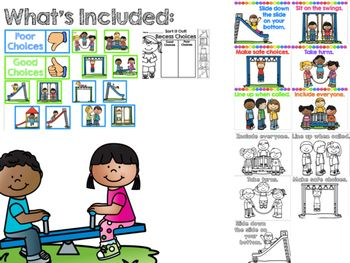 Recess Rules {Making Good Choices}                                                                                                                                                                                 More