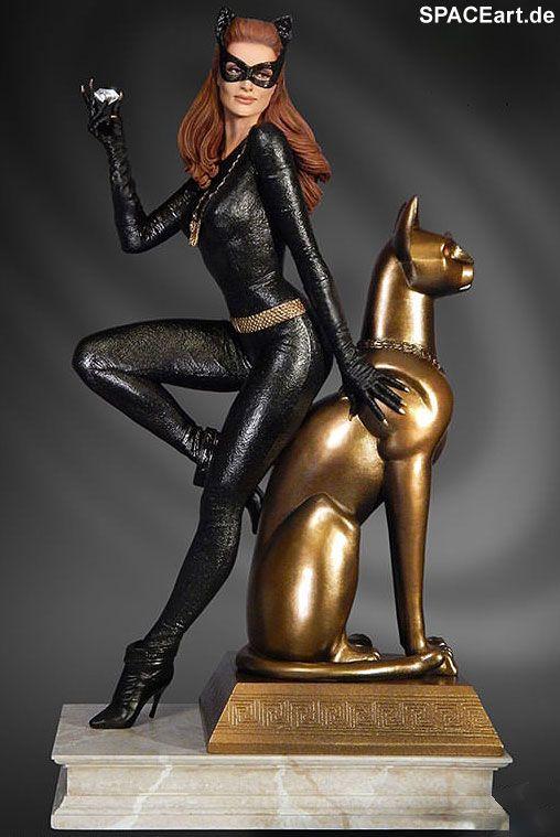 Batman: Catwoman Maquette (Julie Newmar), Statue ... http://spaceart.de/produkte/bm023.php