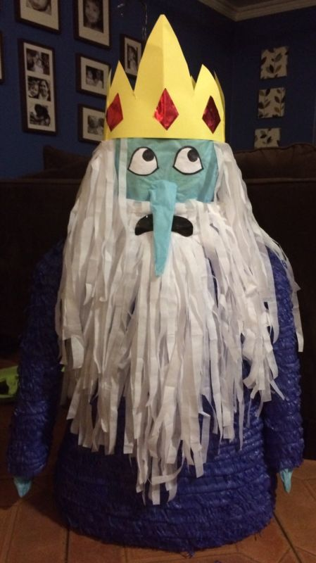 Ice King Piñata - Adventure Time Party