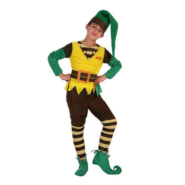 disfraces para nios disfraces infantiles cuentos gnomo elfo disfraz navidad madera nios